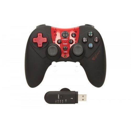 OKAZJA - Gamepad bezprzewodowy Natec Genesis PV44 (PS3, PC), 16 przycisków, 256264