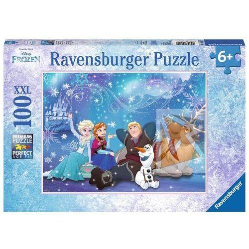 RAVENSBURGER Puzzle XXL 100 elementów Disney Kraina Lodu - Magia lodu, 5_565090