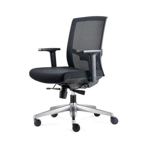 Maduu studio Fotel biurowy ergo czarny/czarny (5902385728836)