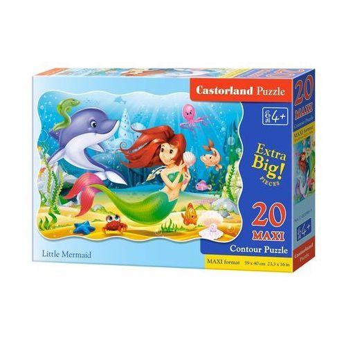 Castor Puzzle 20 maxi little mermaid (5904438002290)