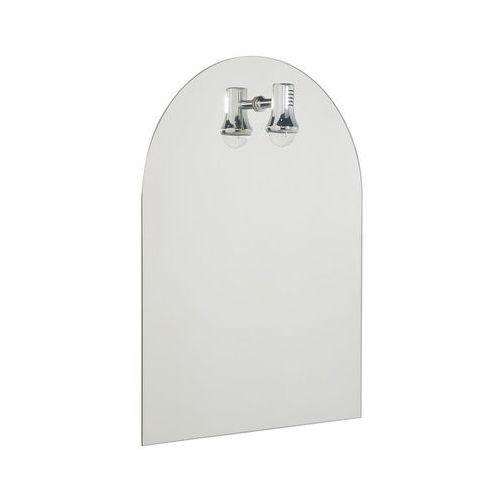 Lustro łazienkowe z oświetleniem kinkietowym SOLO 50 x 65 DUBIEL VITRUM (5905241016030)