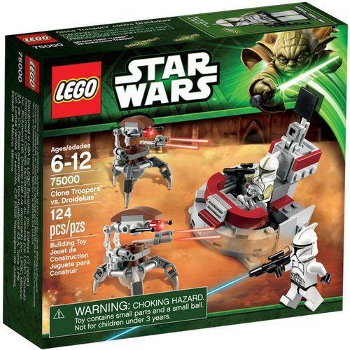 Lego STAR WARS Clone trooper vs. droidekas 75000