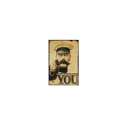 Lord kitchener your country needs you - plakat marki Gbeye