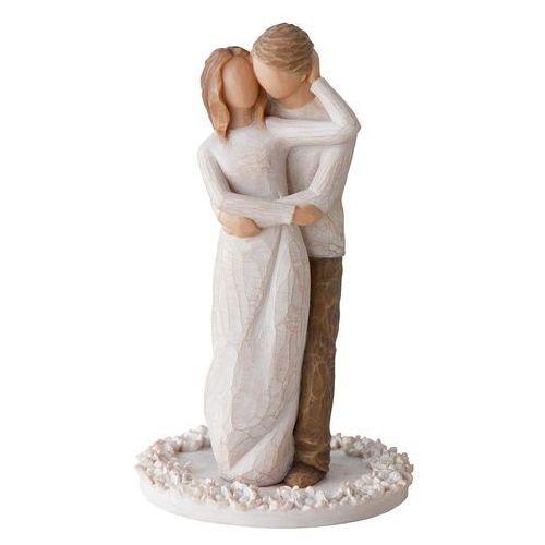 """Willow tree Miłość wokół tortu """"prawdziwi partnerzy w miłości i życiu"""" together cake topp 27162 susan lordi"""