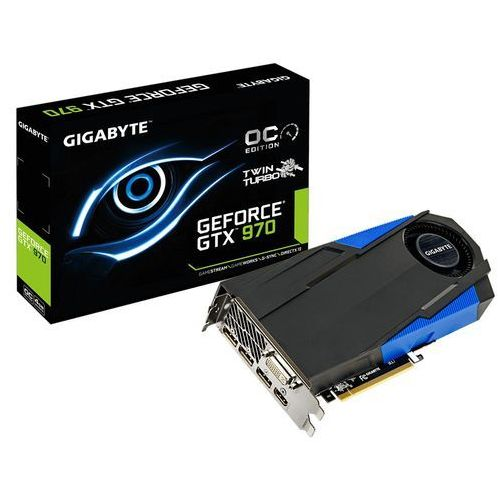 Gigabyte GeForce CUDA GTX970 4GB DDR5 PCI-E 256BIT 2DVI/3DP/HDMI BOX - produkt z kategorii- Karty graficzne