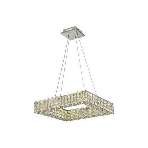 Reality Lampa wisząca zwis louvre 1x24w led chrom / kryształ 315204-06
