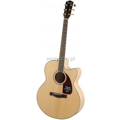 cj 290 sce jumbo gitara elektroakustyczna z futerałem marki Fender