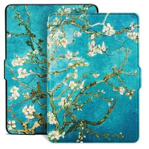 Etui Smart Case Kindle Paperwhite 1 2 3 Flowers, kolor biały
