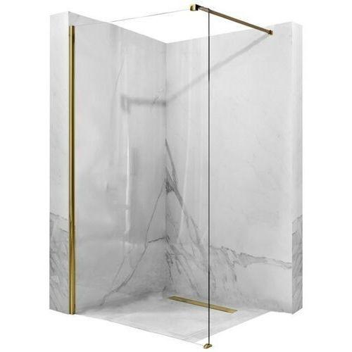 REA Ścianka prysznicowa AERO 100x195cm GOLD REA-K8440, REA-K8440