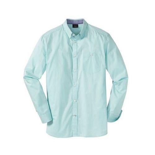 e189cb2c19de Koszula z długim rękawem bonprix jasny turkusowy