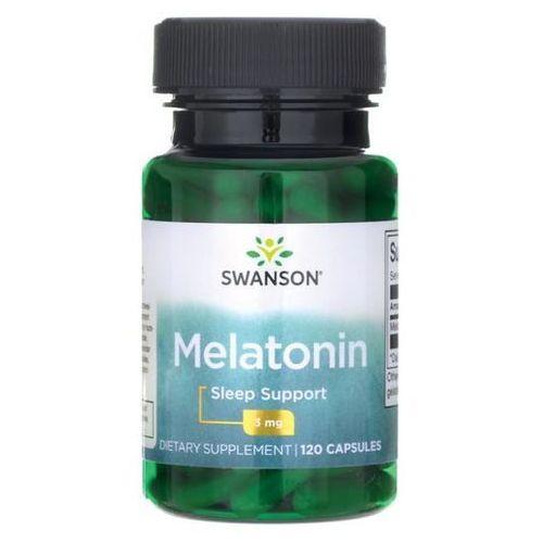 Swanson Melatonina 3 mg 120 kapsułek (0087614015026)