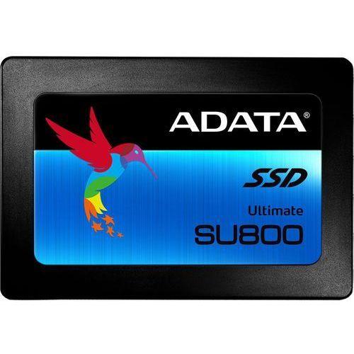 Adata SSD Ultimate SU800 512GB S3 560/520 MB/s TLC 3D DARMOWA DOSTAWA DO 400 SALONÓW !!, ASU800SS-512GT-C