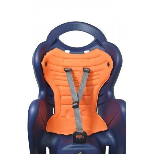 Fotelik Rowerowy Bellelli Mr Fox Clamp mocowania na bagażnik - Biało - czerwony (8020092824331)