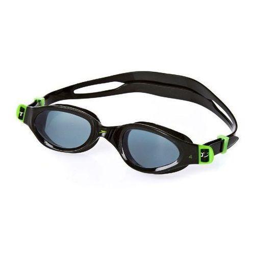 Okulary Speedo FUTURA plus JR green/smoke