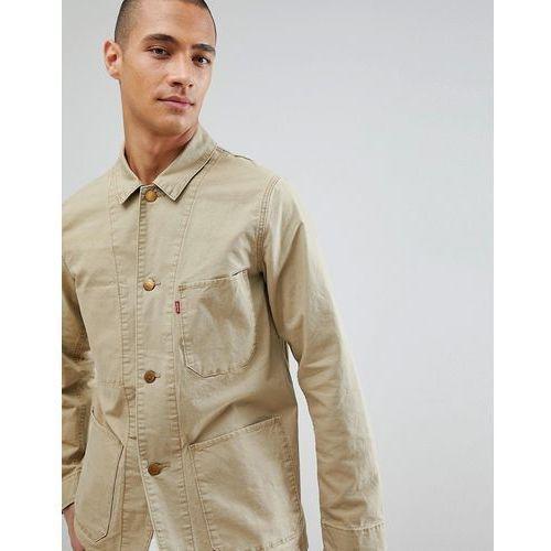 Levis Levi's worker engineers jacket harvest gold - navy