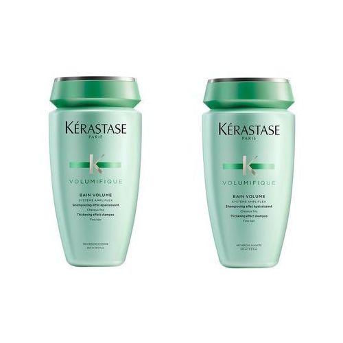 volumifique bain | zestaw: 2x kąpiel nadająca objętość włosom cienkim 250ml marki Kerastase