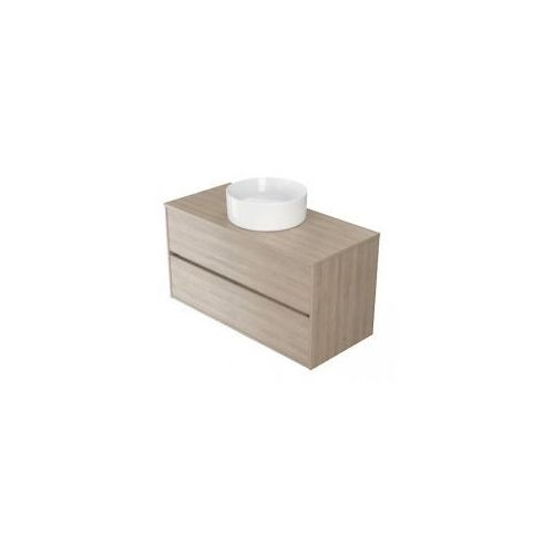 Cersanit crea szafka 100 pod umywalki nablatowe, dąb s924-012 (5902115724381)