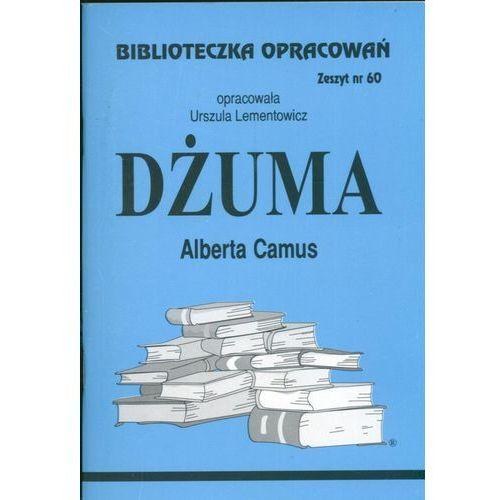 Biblioteczka Opracowań Dżuma Alberta Camusa, Lementowicz, Urszula