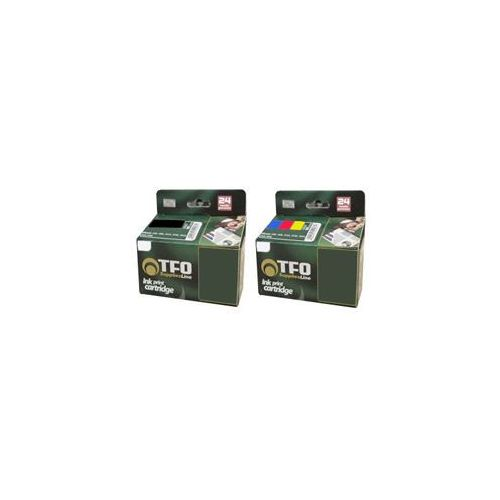Tfo Komplet canon bci-15bk(2szt.) + bci-15c(2szt.) 24.6ml