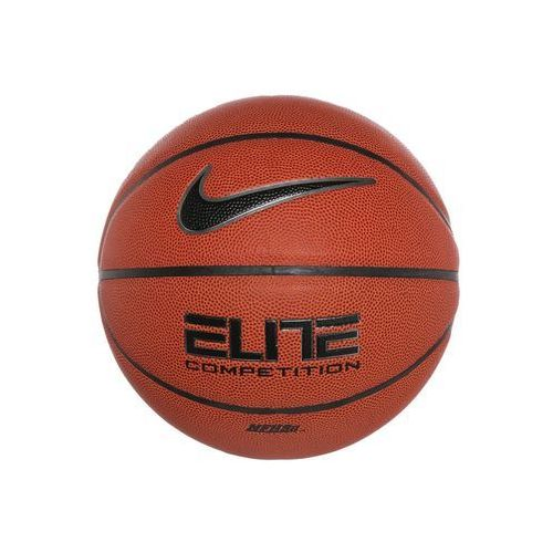 Nike Performance ELITE COMPETITION Piłka do koszykówki amber/black/platinum