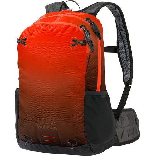 Jack wolfskin halo 22 plecak czerwony/czarny 2018 plecaki codzienne (4055001893409)