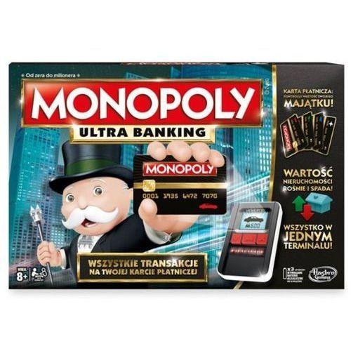 Hasbro Gra monopoly ultimate banking (5902002969277)