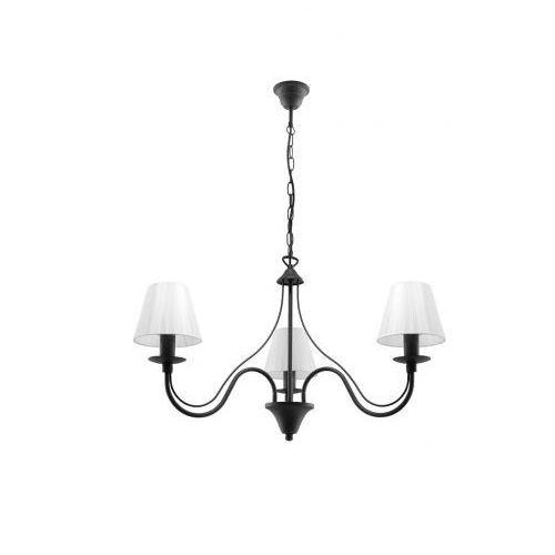 Sollux lighting Lampa wisząca minerwa abażur 3 czarny marki model sl.0562 (5903282705616)