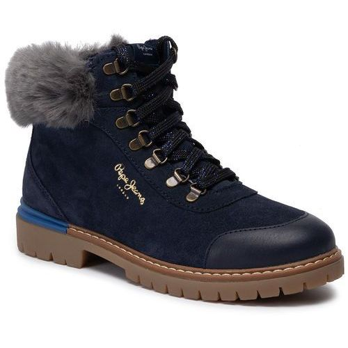 Trapery - combat mountain pgs50141 navy 595 marki Pepe jeans