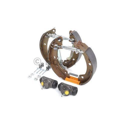 BOSCH KIT SUPERPRO, zestaw szczek hamulcowych + cylinderek hamulca koła; zamontowany; z tyłu, 0 204 114 114