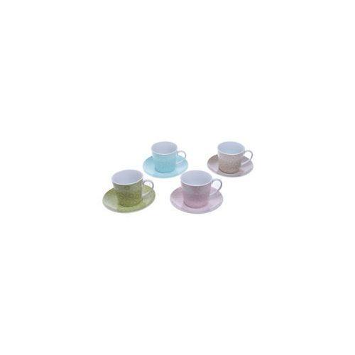 Komplet 4 x kolorowe filiżanki 200 ml (5901638324993)