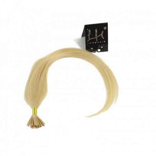 Longhair Włosy na ringi - kolor: #613 - 20 pasm kręcone bardzo jasny słoneczny blond