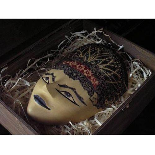 Egzotyczny Prezent RZEŹBA Maska SIŁ NATURY