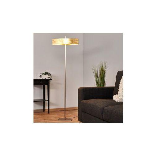 Lampenwelt Ściemniania lampa stojąca led malu, antyczne złoto (4251096509175)