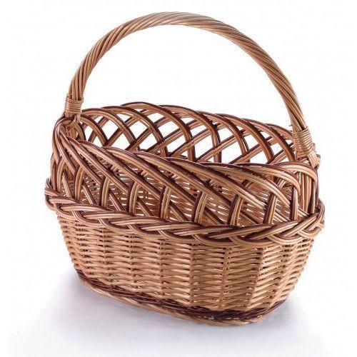 Wyroby z wikliny pph jan wnuk Ażur z warkoczem, kosz wiklinowy zakupowy