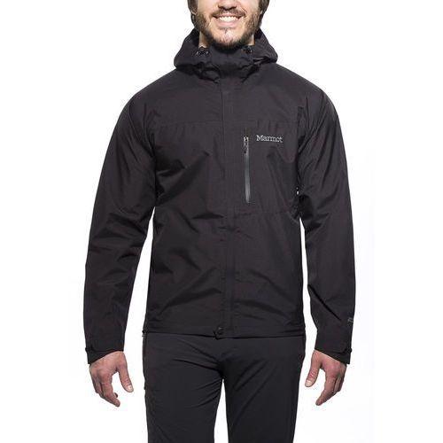 Marmot Minimalist Kurtka Mężczyźni czarny S Kurtki przeciwdeszczowe, kolor czarny