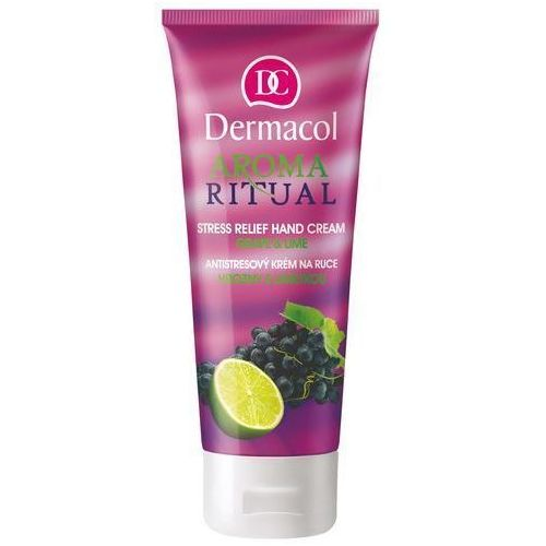 Dermacol Aroma Ritual Hand Cream Grape&Lime 100ml W Krem do rąk