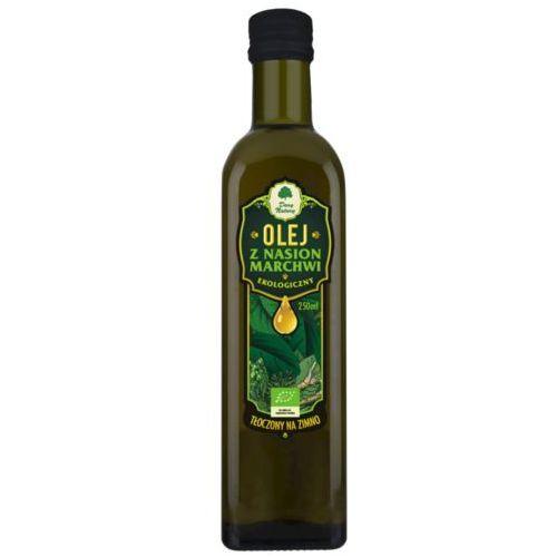 Dary natury - test Olej z nasion marchwi bio 250 ml - dary natury (5902581616142)
