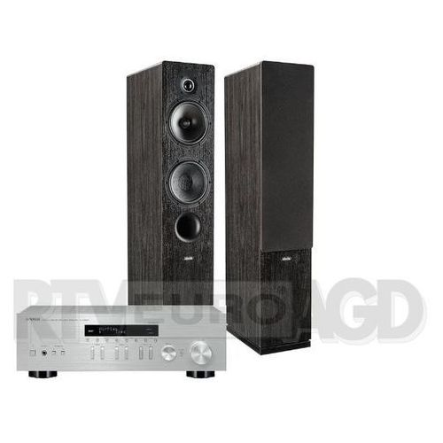 Yamaha MusicCast R-N303D (srebrny), Indiana Line Tesi 561 (czarny) (0000001138484)