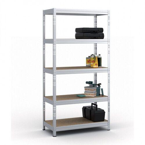 Regał półkowy DT, 1800x900x450 mm, nośność 220 kg/półkę, ocynkowany (8595102427265)
