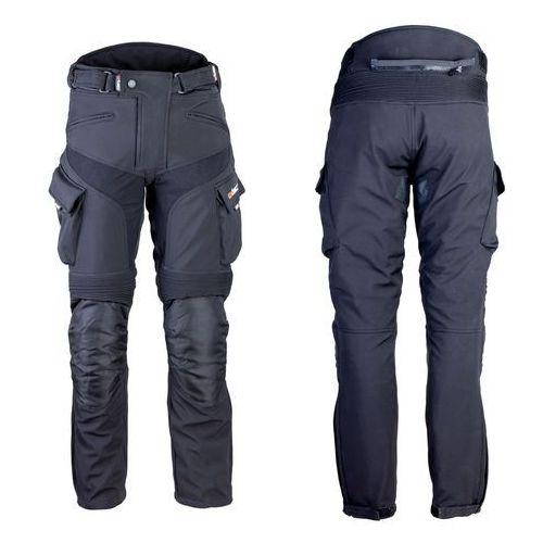 Męskie spodnie motocyklowe softshell W-TEC Erkalis GS-1729, Czarny, XXL (8596084049735)