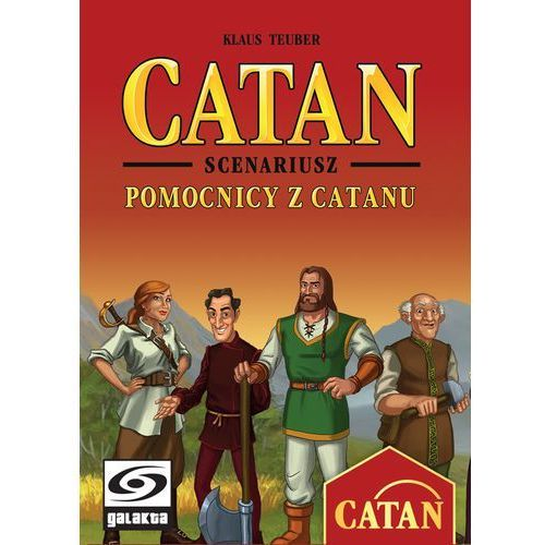 Catan: pomocnicy z catanu - marki Galakta