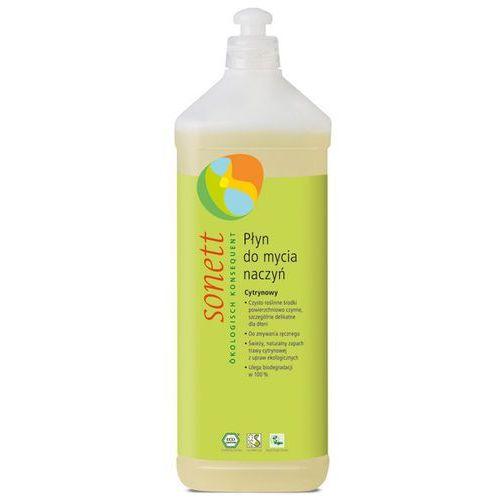 Ekologiczny płyn do mycia naczyń cytrynowy 1 litr marki Sonett