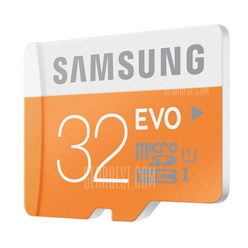 Samsung 32GB 48MB/S Class 10 Micro SDHC Card for Mobile Phone and Smartphone (Black) - produkt z kategorii- Karty pamięci