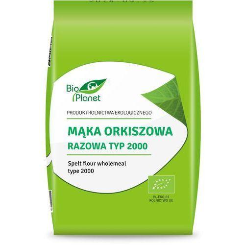 Bio planet mąka orkiszowa razowa typ2000 1kg marki Bio planet - seria mąki i skrobie