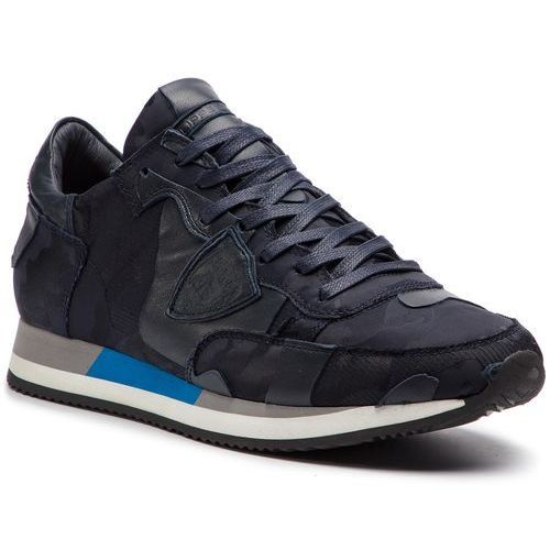 Sneakersy PHILIPPE MODEL - Tropez TRLU CR01 3D Bleu, kolor niebieski