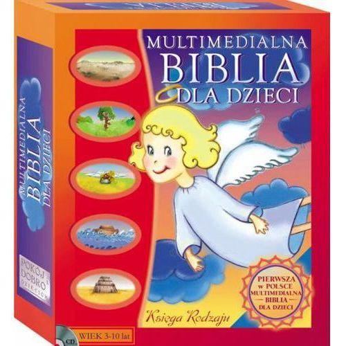 Multimedialna Biblia dla Dzieci Księga Rodzaju (PC) wyprzedaż 06/18 (-26%)