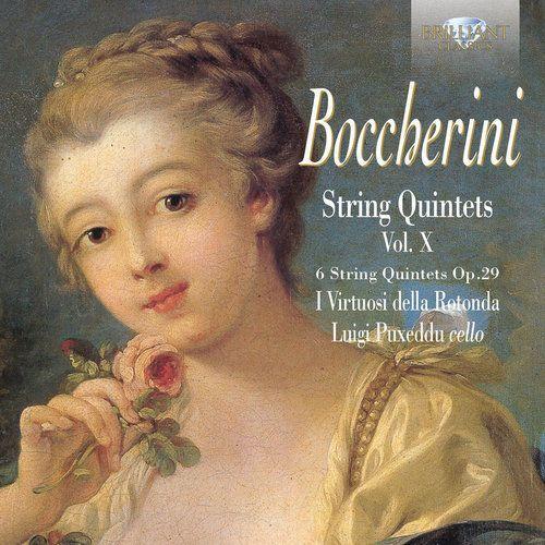 Boccherini: string quintets op. 29, vol. x marki Brilliant classics