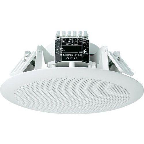 Głośnik sufitowy pa do zabudowy  edl-156, 100 db, 60 - 20 000 hz, 100 v, kolor: biały, 1 szt. marki Monacor
