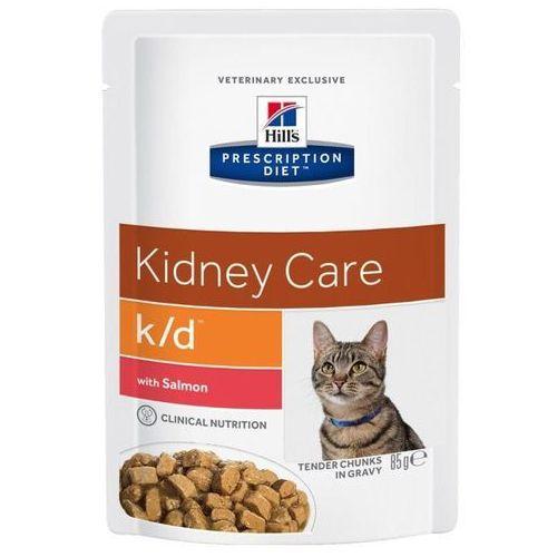 HILL'S PD Prescription Diet Feline k/d łosoś 85g - saszetka