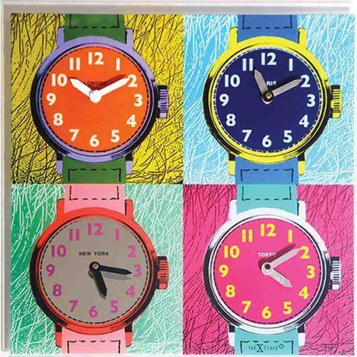 Nextime - zegar ścienny time zones